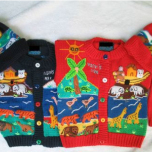 Noah's Ark Sweater