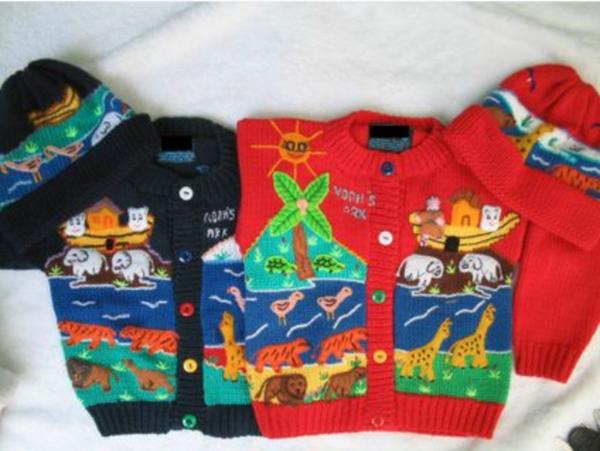 Noah's Ark Sweater