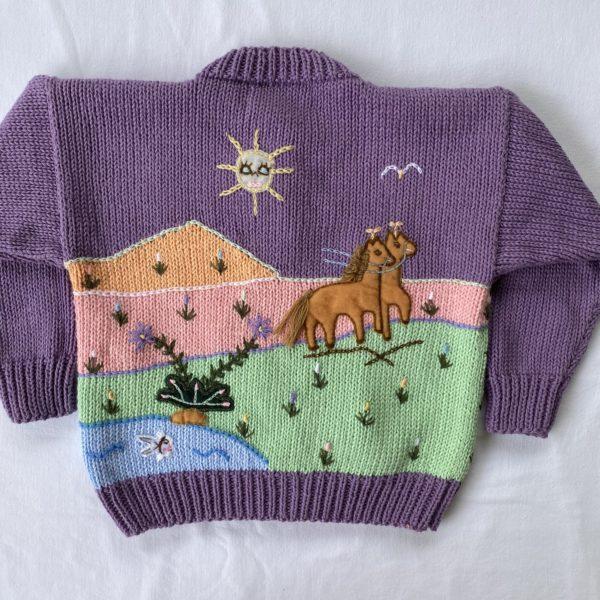 Cinderella Sweater Back